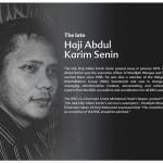 The Late Haji_Abdul_Karim_Senin