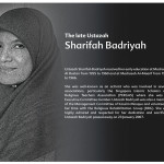 The Late Sharifah_Badriyah