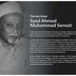 The Late Syed_Ahmad_Muhammad_Semait